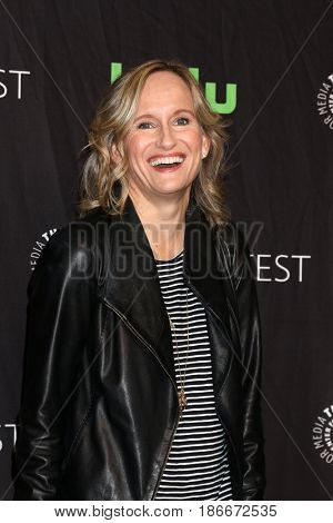 LOS ANGELES - MAR 18:  Wendy Mericle at the 34th Annual PaleyFest Los Angeles - The CW at Dolby Theater on March 18, 2017 in Los Angeles, CA