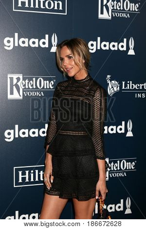 LOS ANGELES - APR 1:  Arielle Kebbel at the 28th Annual GLAAD Media Awards at Beverly Hilton Hotel on April 1, 2017 in Beverly Hills, CA