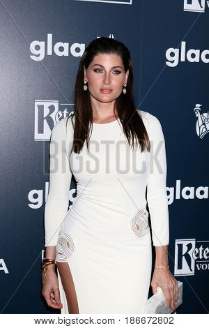 LOS ANGELES - APR 1:  Trace Lysette at the 28th Annual GLAAD Media Awards at Beverly Hilton Hotel on April 1, 2017 in Beverly Hills, CA
