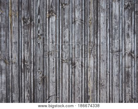 Unpainted fence floor wall Wood panel background. Old vintage planked vertical wooden texture. Boards empty clear background for flat lay photo design