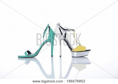 Two female shoes