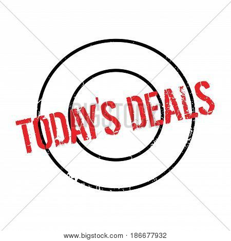 Today s Deals rubber stamp. Grunge design with dust scratches. Effects can be easily removed for a clean, crisp look. Color is easily changed.
