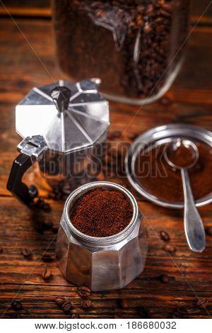 Old Coffee Make