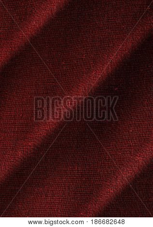 Fabric, red fabric, red fabric texture. Textile material closeup. Fabric background. Red background. Red textile.