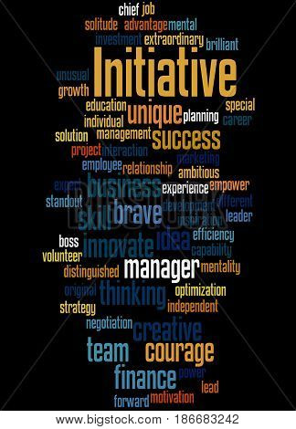 Initiative, Word Cloud Concept 5