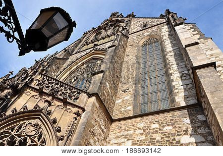 Old cathedral, city of Brno, Czech Republic, Europe