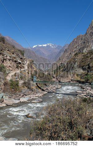 Vilcanota River and the Inca Trail, Peru