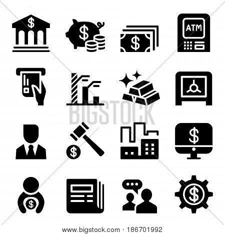 Money & Financial icon set  vector illustration graphic design