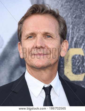 "LOS ANGELES - MAY 08:  Sebastian Roche arrives for the 'King Arthur: Legend Of The Sword"" World Premiere on May 8, 2017 in Hollywood, CA"