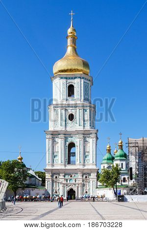 View Of Belltower Of Saint Sophia Cathedral