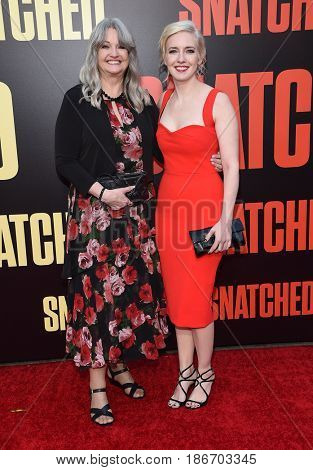 LOS ANGELES - MAY 10:  Katie Dippold arrives for the 'Snatched' World Premiere on May 10, 2017 in Westwood, CA