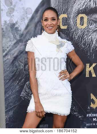 LOS ANGELES - MAY 08:  Dania Ramirez arrives for the 'King Arthur: Legend Of The Sword