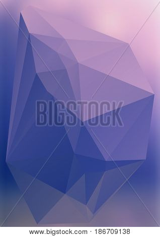 Modern Abstract Background Triangles 3D Effect Glowing Light23