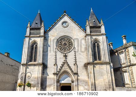Saint Jacques Church in Cognac - France, Charente