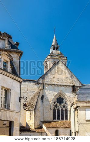Saint Leger Church in Cognac - France, Charente