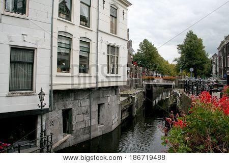 Netherlands Zuid-Holland Gouda june 2016: Hoge Gouwe