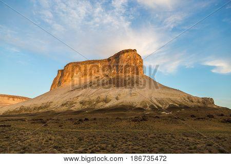 Chines of plateau Ustyurt, Bosjira, Kazakhstan desert