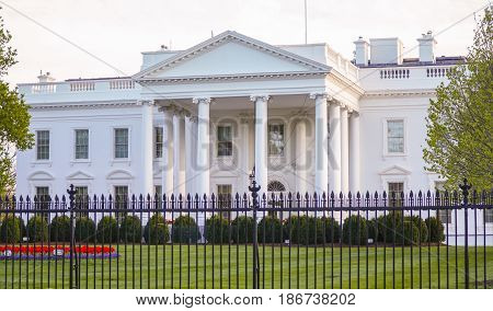 Home of the President - The White House in Washington DC - WASHINGTON DC - COLUMBIA