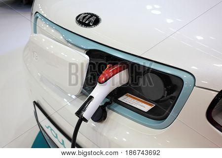 Kia Electric Vehicle Charging