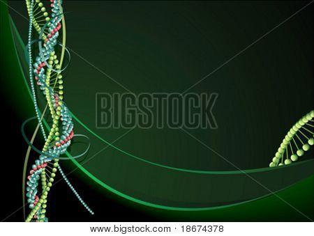 Green Biology background