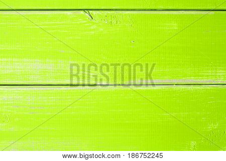 Light Green Wooden Slats Background With Copy Space For Advertisement Or Your Free Text Here. Shabby Chic Or Vintage Style