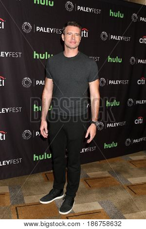 LOS ANGELES - MAR 26:  Scott Foley at the 34th Annual PaleyFest Los Angeles -