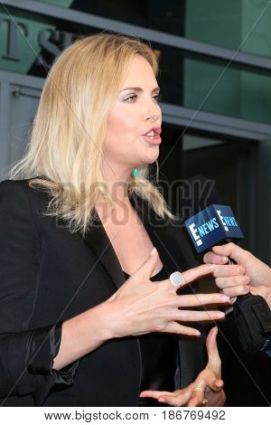 LOS ANGELES - APR 17:  Charlize Theron at the