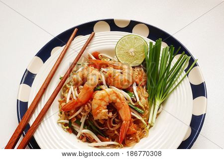 famous thai food, padthai ,famous thai fried noodle