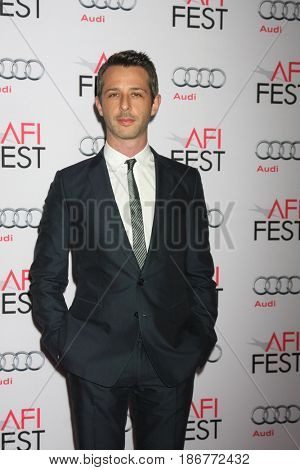 LOS ANGELES - NOV 12:  Jeremy Strong at the AFI Fest 2015 - Presented by Audi - The Big Short Gala Screening at the TCL Chinese Theater on November 12, 2015 in Los Angeles, CA