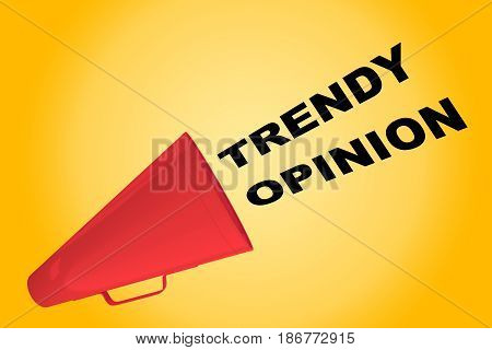 Trendy Opinion Concept