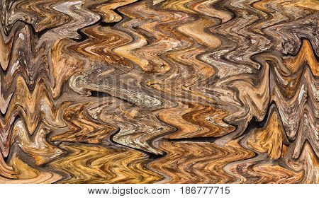 Abstract of textured colorful rocks in a liquify filter for a background