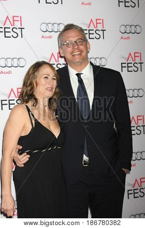 LOS ANGELES - NOV 12:  Adam McKay at the AFI Fest 2015 - Presented by Audi - The Big Short Gala Screening at the TCL Chinese Theater on November 12, 2015 in Los Angeles, CA