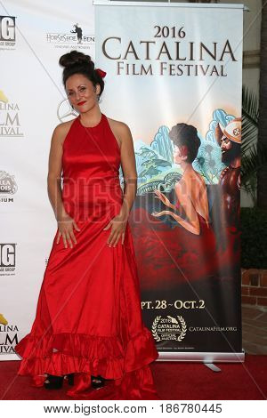 LOS ANGELES - OCT 1:  Porschia Denning at the Catalina Film Festival - Saturday at the Casino on October 1, 2016 in Avalon, Catalina Island, CA