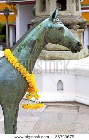 Horse   The Temple Bangkok Asia   Thailand Abstract Bronze