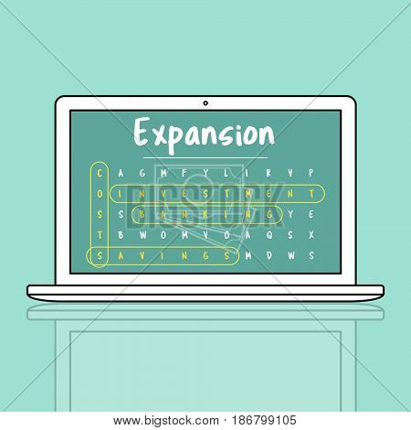 Business Strategy Investment Expansion Illustration