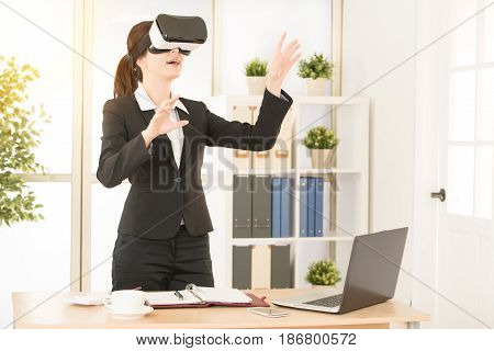 Office Worker Doing Business At Office Studio