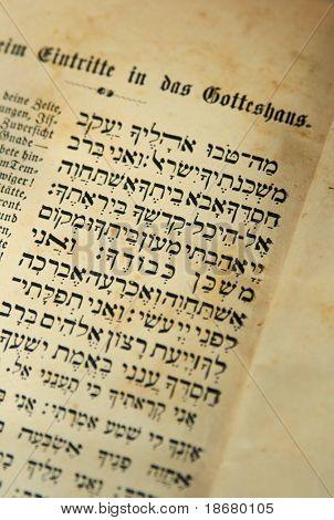 A Czech Reform siddur (prayerbook) for passover from 1860