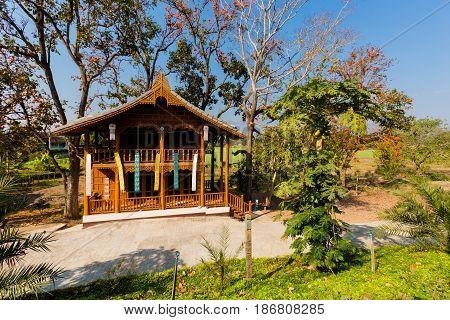 Architecture Of Touristic Pai Village