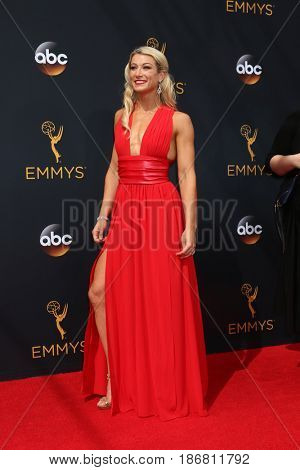 LOS ANGELES - SEP 18:  Jessie Graff at the 2016 Primetime Emmy Awards - Arrivals at the Microsoft Theater on September 18, 2016 in Los Angeles, CA