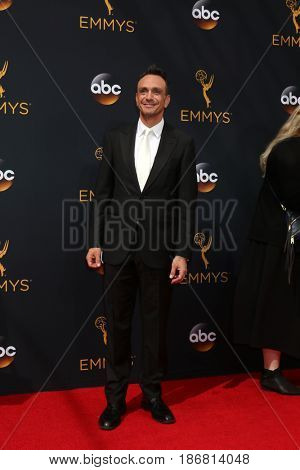 LOS ANGELES - SEP 18:  Hank Azaria at the 2016 Primetime Emmy Awards - Arrivals at the Microsoft Theater on September 18, 2016 in Los Angeles, CA