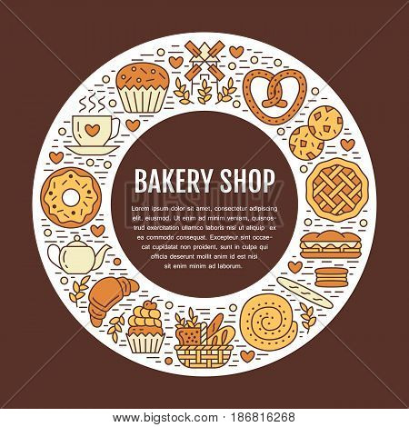 Bakery, Confectionery Vector & Photo (Free Trial)   Bigstock