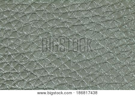 Gray leather texture, leather background for design. Pattern of leather that occurs natural.