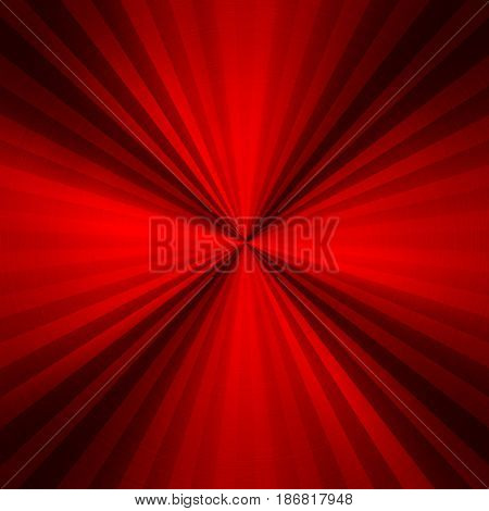 red metal with striped pattern background