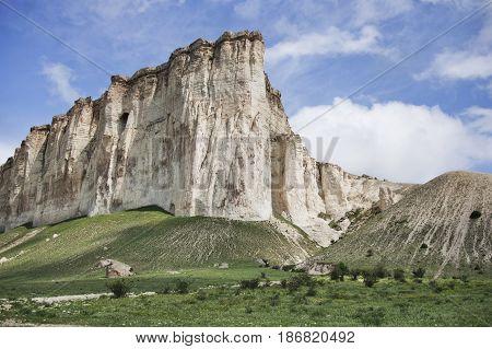 Landscape With White Rock In Crimea