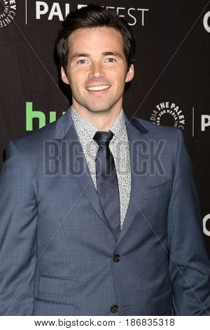 LOS ANGELES - MAR 25:  Ian Harding at the 34th Annual PaleyFest Los Angeles -