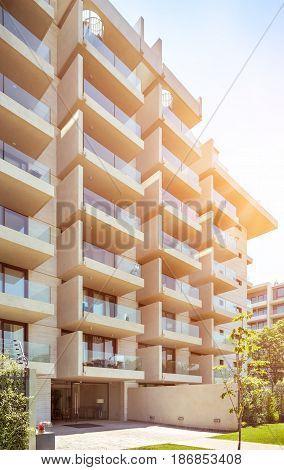 New Resedential Building In Santiago, Chile