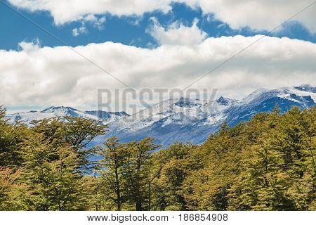 Patagonia Landscape Scene - Aisen Chile
