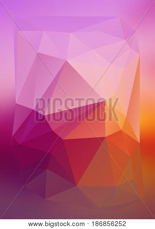 Modern Abstract Background Triangles 3D Effect Glowing Light79