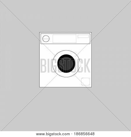 vector icon Laundry illustration on background image