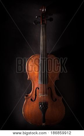 Violin music string isolated orchestra maple old